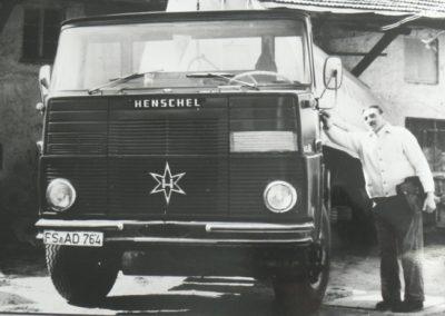 Firmengründer Johann Lochner