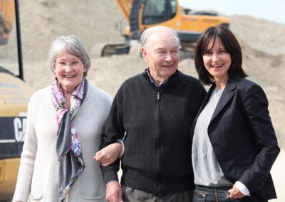 Maria, Karl und Andrea Lochner